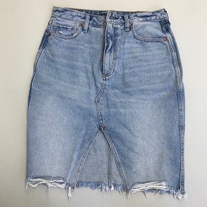 Abercrombie&Fitch jean skirt